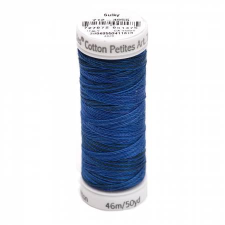 Blendables Cotton Thread 2-ply 12wt 50yds Royal Navy