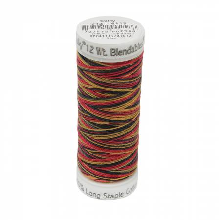 Blendables Cotton Thread 2-ply 12wt 50yds Fall Holidays