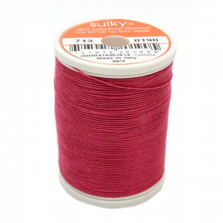 Cotton 12wt 330yd June Berry