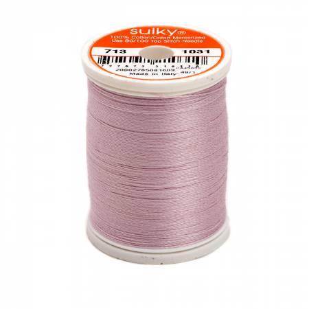 Cotton Thread 2-ply 12wt 660d 330yds Medium Orchid