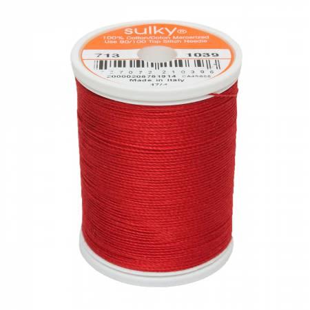 Cotton 12wt 330yd True Red