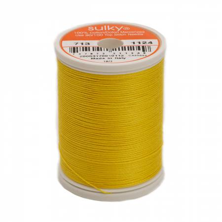 Sulky Cotton Thread 2-ply 12wt 660d 330yds Sun Yellow *