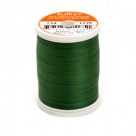 Cotton Thread 2-ply 12wt 660d 330yds Dark Avocado