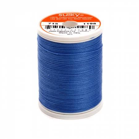 Cotton Thread 2-ply 12wt 660d 330yds Dusty Navy