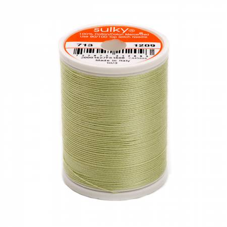 Cotton Thread 2-ply 12wt 660d 330yds Light Avocado