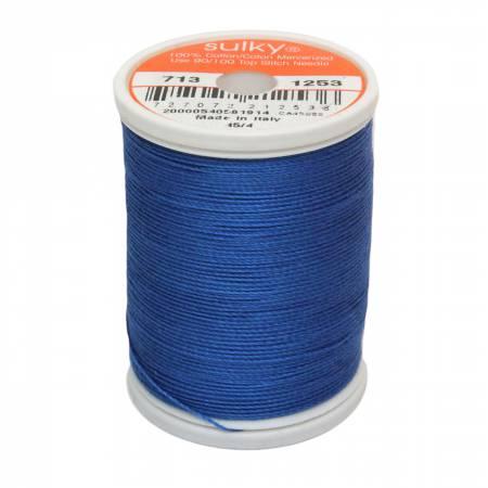 Cotton 12wt 330yd Dk Sapphire