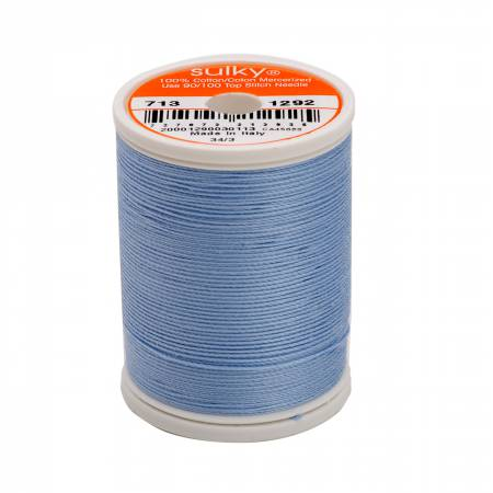 Sulky Cotton Thread 2-ply 12wt 660d 330yds Heron Blue *