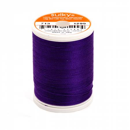 Sulky Cotton Thread 2-ply 12wt 660d 330yds Purple Shadow