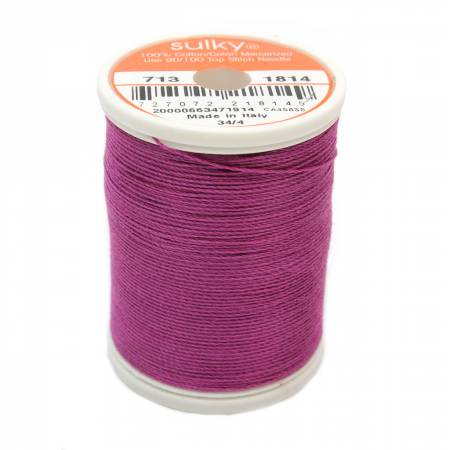 Cotton 12wt 330yd Orchid Kiss