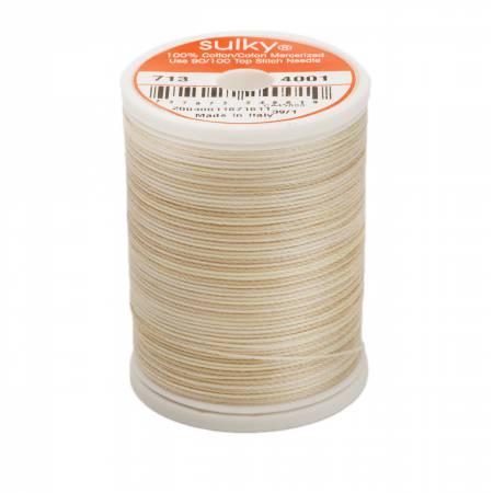 Blendables Cotton Thread 2-ply 12wt 660d 330yds Parchment