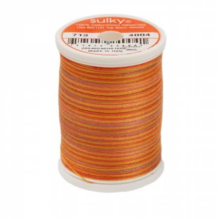 Blendables Cotton Thread 2-ply 12wt 660d 330yds Golden Flame