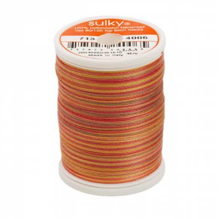 Blendables Cotton Thread 2-ply 12wt 660d 330yds Autumn