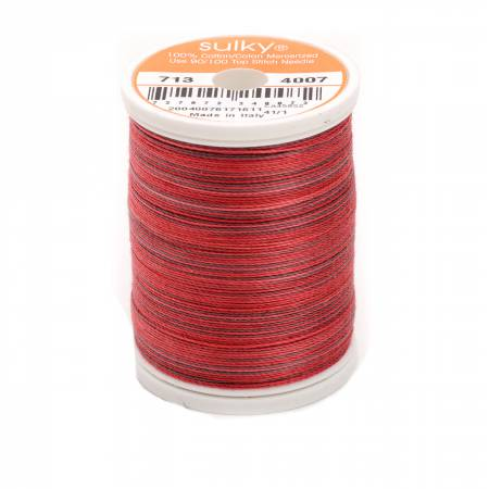 Blendables Cotton Thread 2-ply 12wt 660d 330yds Red Brick
