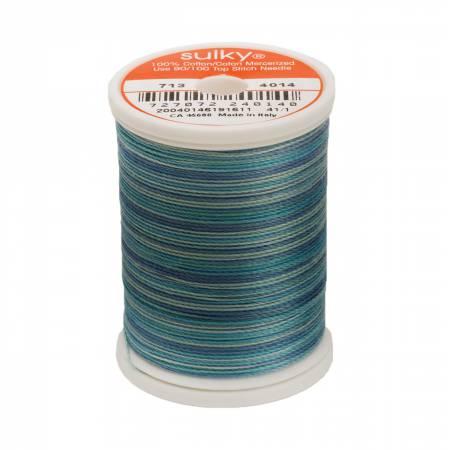 Blendables Cotton Thread 2-ply 12wt 660d 330yds Ocean Blue