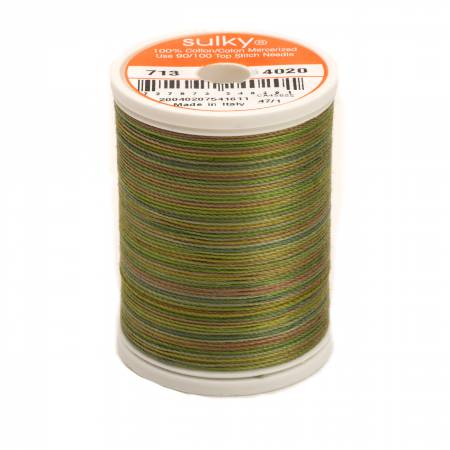 Blendables Cotton Thread 2-ply 12wt 660d 330yds Moss Medley