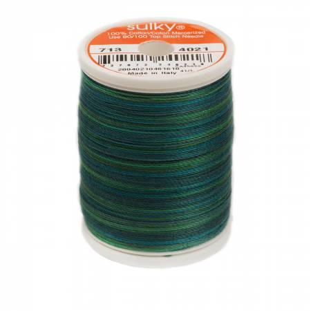 Sulky 12 wt 713-4021 - Truly Teal