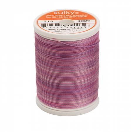 4025 Blendables Cotton Thread 2-ply 12wt 660d 330yds Hydrangea