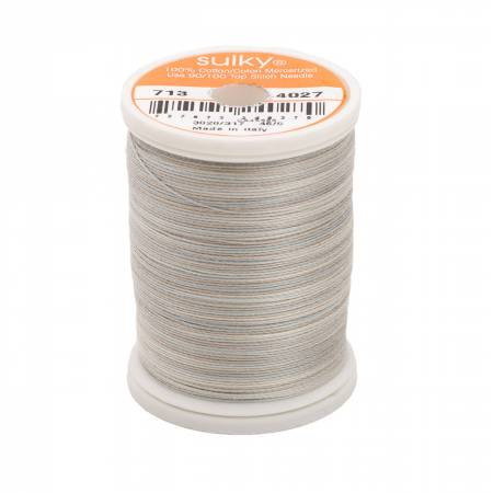 Blendables Cotton Thread 2-ply 12wt 660d 330yds Silver Slate