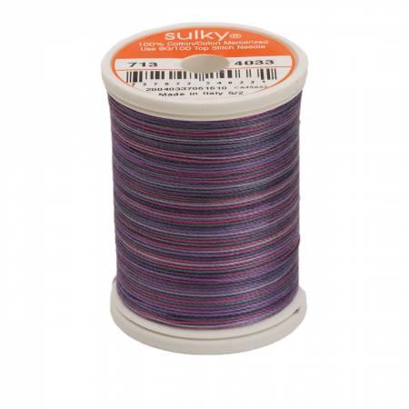 Blendables Cotton Thread 2-ply 12wt 660d 330yds Grape Wine