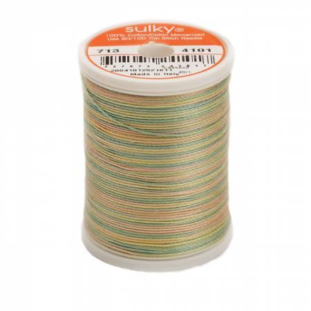 Blendables Cotton Thread 2-ply 12wt 660d 330yds Easter Eggs, 4101