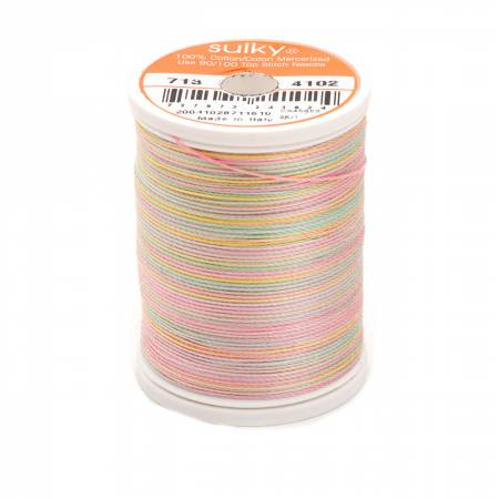Blendables Cotton Thread 2-ply 12wt 660d 330yds Spring Garden