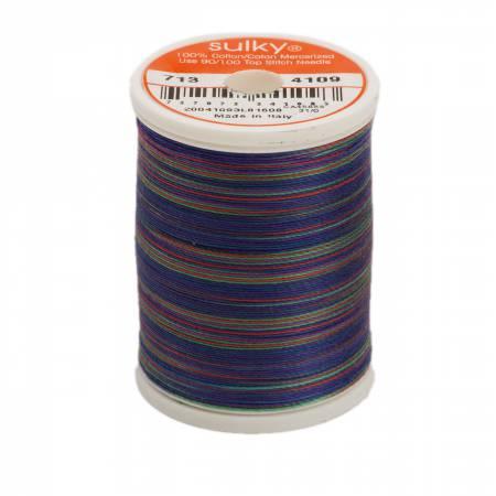 4109 Blendables Cotton Thread 2-ply 12wt 660d 330yds Jewel Tones