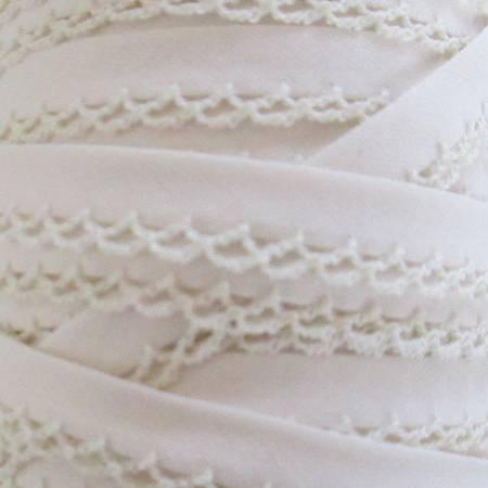 Crochet edge tape