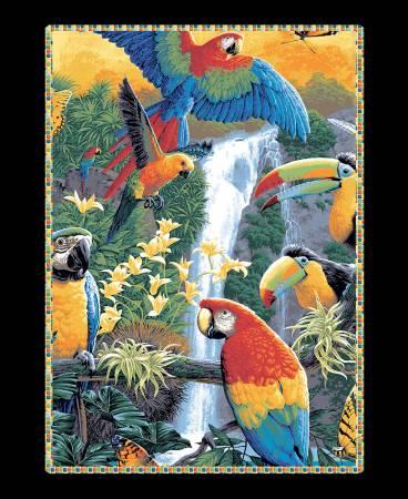 Tropical Toucan Panel - 36xWOF