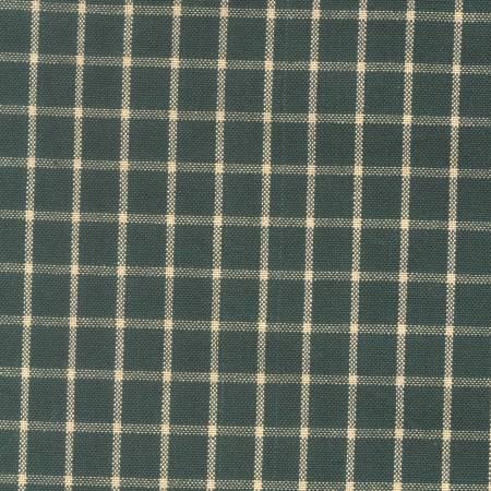 Tea Towel Reverse Window Pane Green/Teadye