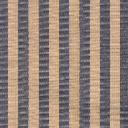 Tea Towel ctry Stripe Navy/Teadye