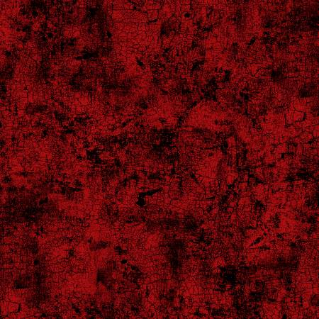 Wilmington Prints Red Crackle 108in Wide Back 745181450144
