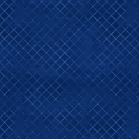 Blue Trellis #444 108in Wide Back