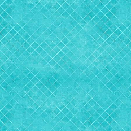 108in Aqua Trellis Wide Backing 7215-471