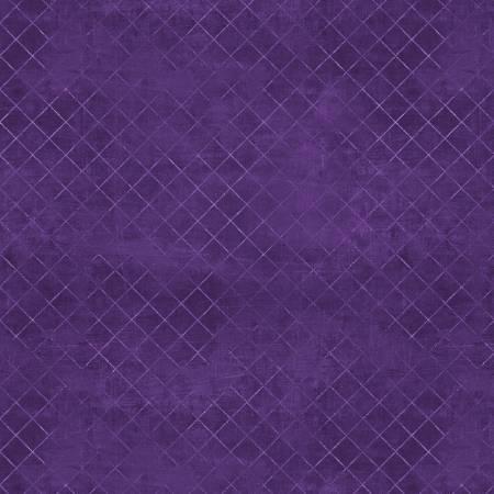 Purple Trellis #660 108in Wide Back
