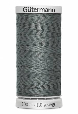 Gutermann  Extra Strong Poly Upholstery Thread- Grey