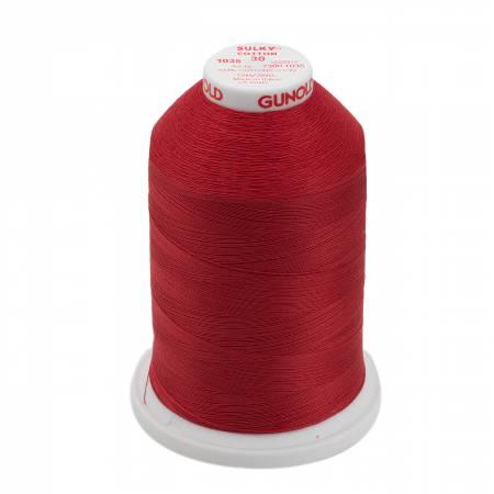 Sulky Cotton Thread 2-ply 30wt 400d 3200yds 730-1035 Dark Burgundy
