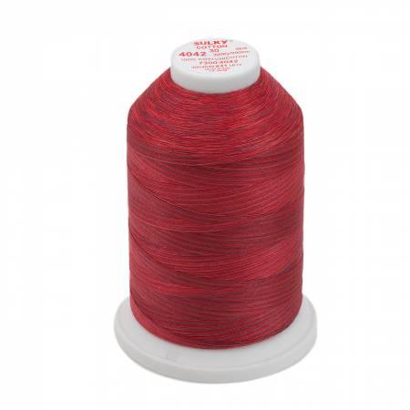 Sulky Blendables Cotton Thread 30wt 3200yds 730-4042 Redwork
