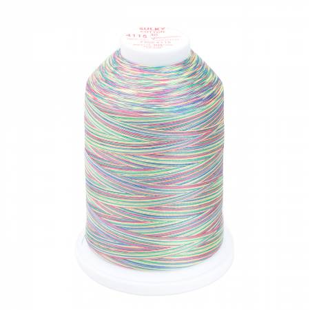 Sulky Blendables Cotton Thread 30wt 3200yds 730-4115 Wildflowers