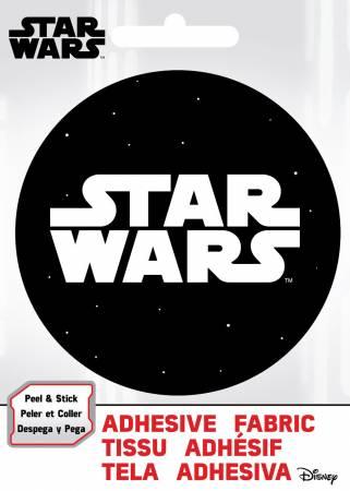 Star Wars - Star Wars Logo - Adhesive Fabric 3in Badge