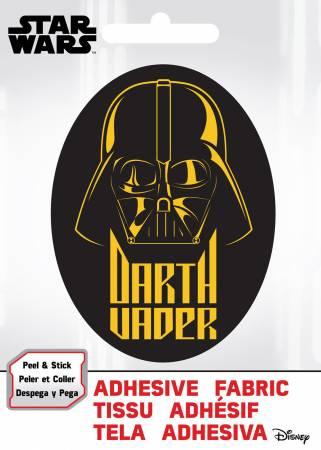 Star Wars - SW Darth Vader - Adhesive Fabric 3in Badge