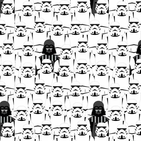 Star Wars Storm Troopers Cotton
