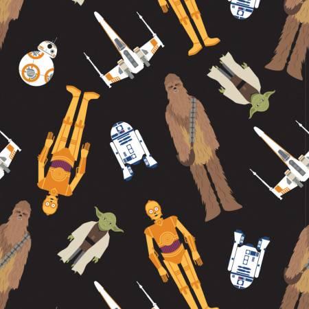 Star Wars Character Toss Cotton
