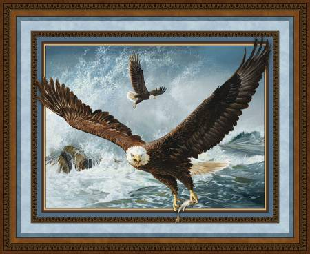 Wild Wings Quest of the Hunter Wall Panel