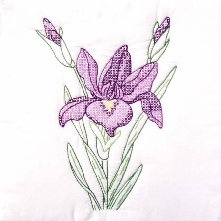 Iris Quilt Block Set