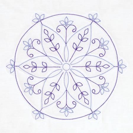 732-715 Simple Mandala 18in Block Set