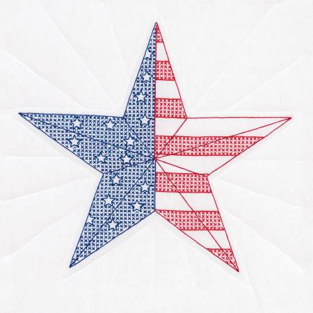 White 18in Quilt Squares American Star