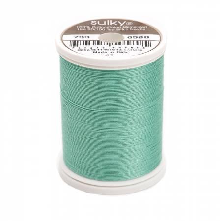 Sulky Cotton Solids 30wt - #0580 Mint Julep