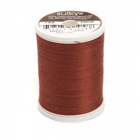 Sulky Cotton Solids 30wt - #1058 Tawny Brown