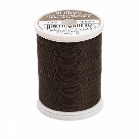 Sulky Cotton Solids 30wt - #1131 Cloister Brown