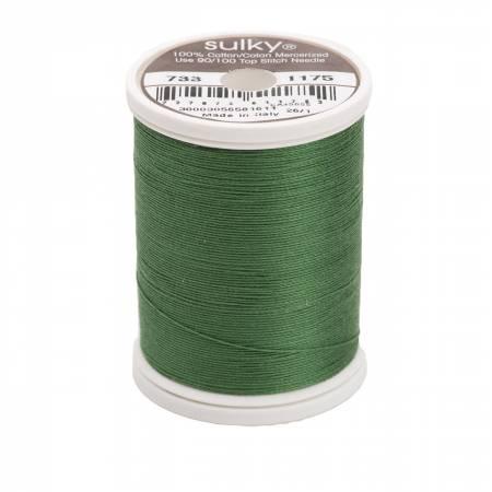 Sulky Cotton Solids 30wt - #1175 Dark Avocado